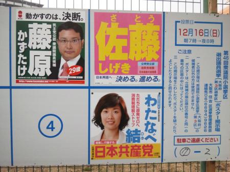 大阪第3区候補者
