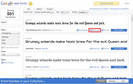 google web font 手順2