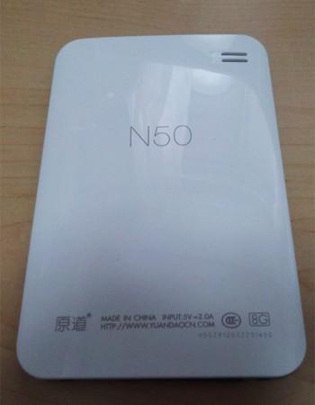 N50 背面