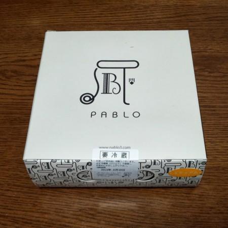 パブロチーズタルト 箱
