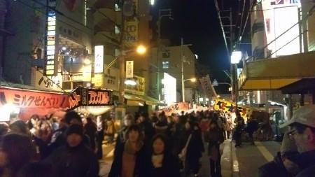 参道夜店画像